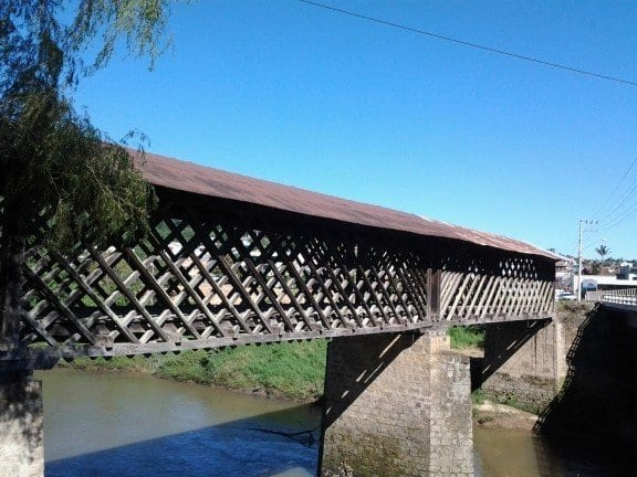 Ponte treliçada de Taió (Prefeitura de Taió)
