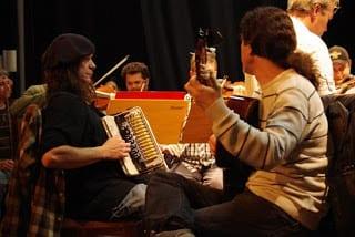 Borgtetti ensaiou em Blumenau no domingo