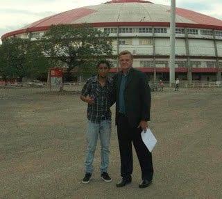 Josélio e Maurinho - foto do Metropolitano
