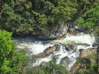 Corredeira do rio Braço do Norte (Foto de Moacir Conradi)