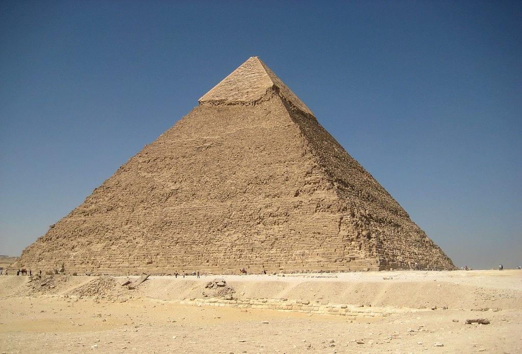 Pirâmide de Quéfren, no Egito, pode ser inspiração para brasileiros (Francisco Anzola)