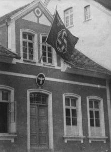 Sede do partido nazista em 1934 na Rua 15 de Novembro