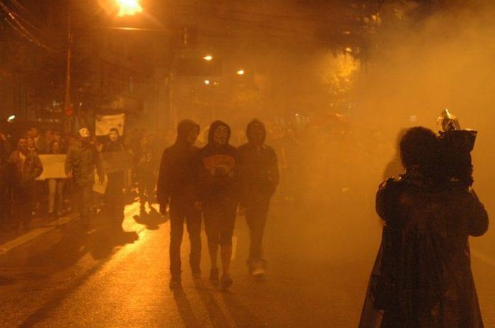 Protesto em Blumenau (Filipe Rosenbrock)