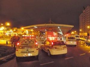 Polícia altera trajeto dos ônibus (Jaime Batista)