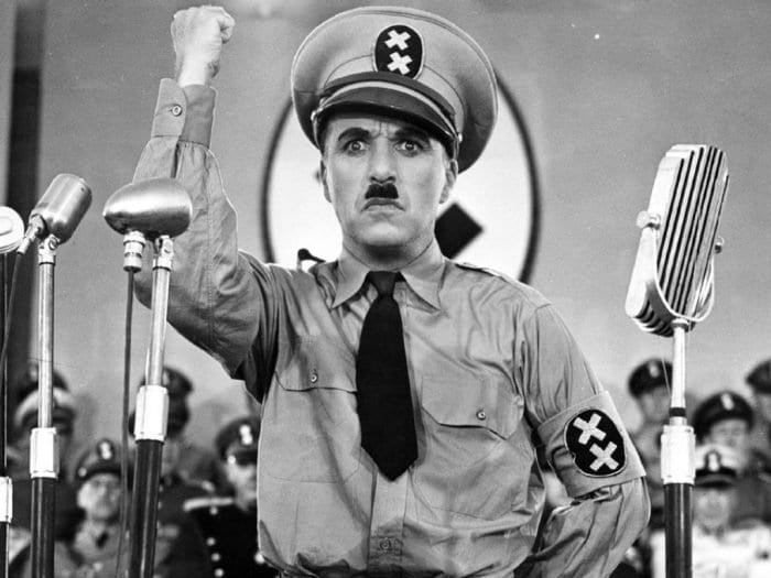 O grande ditador, Charles Chaplin