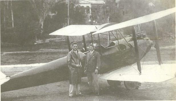 Primeiro Pouso Avião 1932 5 maio em Bnu 001