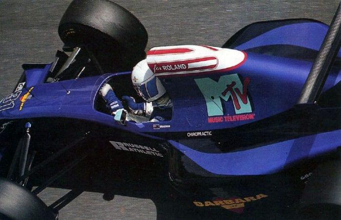 David Brabham em Mônaco, e a singela homenagem a Ratzenberger (F1 Rejects)
