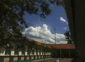 Pátio do colégio Elza Pacheco - foto de Iran Silva