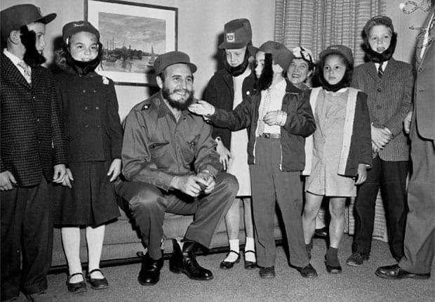 Fidel e as crianças. O desenvolvimento da Ideologia (Reprodução)