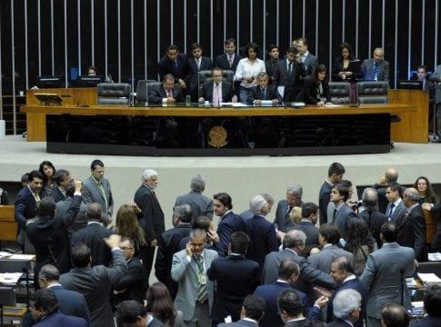 Sessão extraordinária da Câmara Federal (Luis Macedo / Câmara dos Deputados)