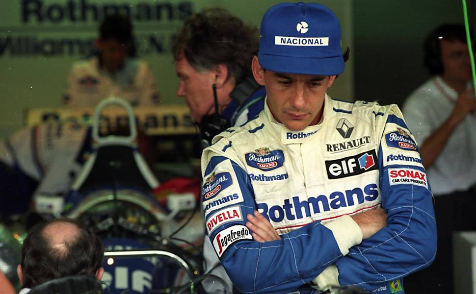 Imola, 1994 - Um Senna diferente entraria na pista (UOL)