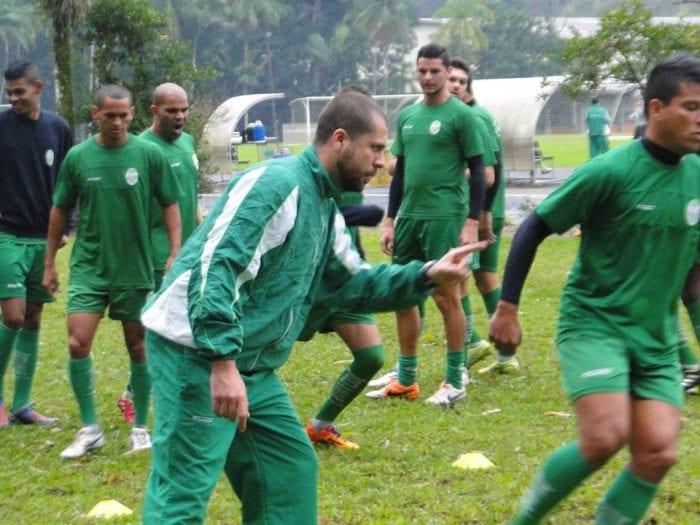 Atletas realizaram atividades físicas (Sidnei Batista)