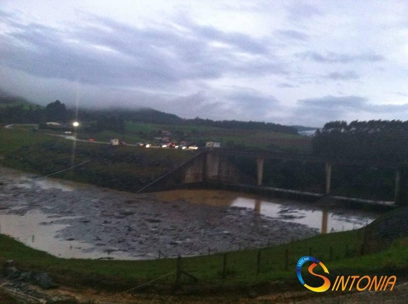 Barragem Sul em Ituporanga (Rádio Sintonia)