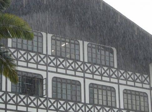 Chuva em Blumenau - foto de Jaime Batista