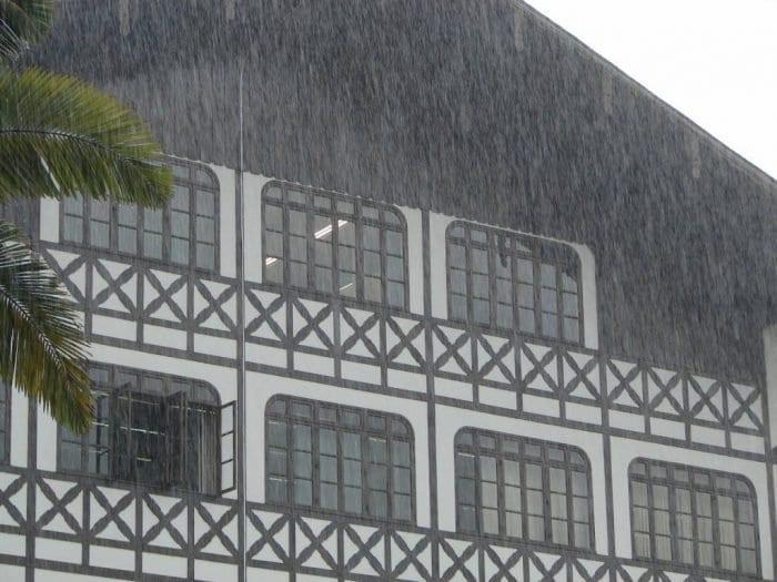 As chuvas ocorridas em Blumenau e as problemas ambientais - foto de Jaime Batista