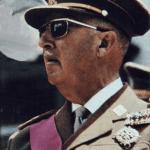 Francisco Franco: Depois da Guerra Civil, pulso firme e rigido sobre a Espanha até sua morte, em 1975 (Wikipédia)