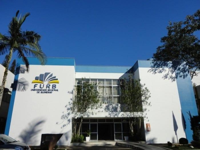 Campus 1 da Furb - foto da assessoria