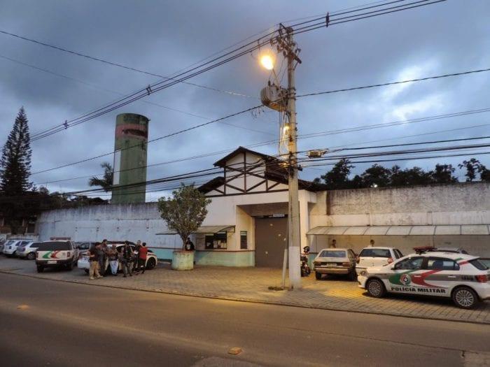 Presídio de Blumenau - foto de Jaime Batista