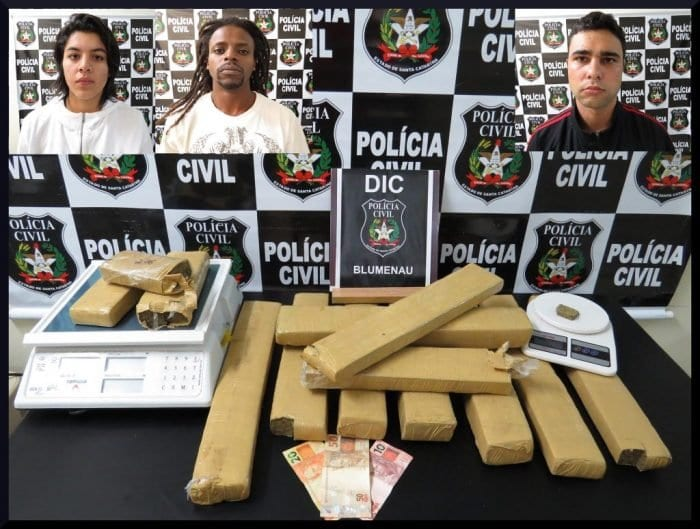 Droga apreendida pela Polícia Civil (Polícia Civil)