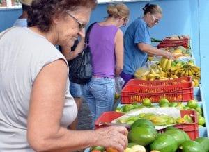 Feira Livre no bairro Itoupavazinha (Eraldo Schnaider)