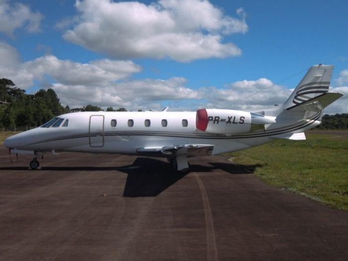 Cessna 560-XL identico ao usado por Campos em sua derradeira viagem. Uma das aeronaves mais modernas do mundo (Airliners.net)