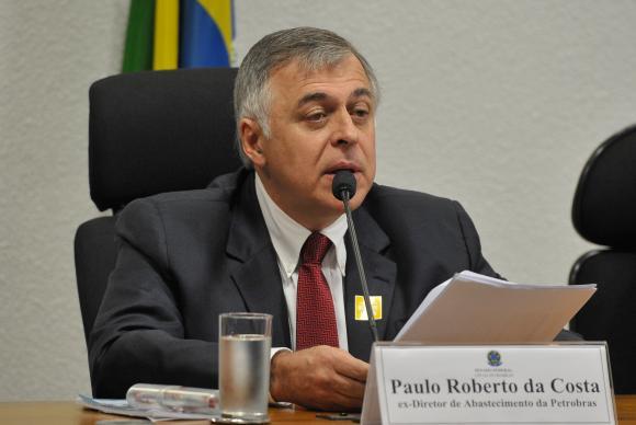 O ex-diretor de Abastecimento da Petrobras Paulo Roberto da Costa vai depor na CPMI (Antonio Cruz/Agência Brasil)