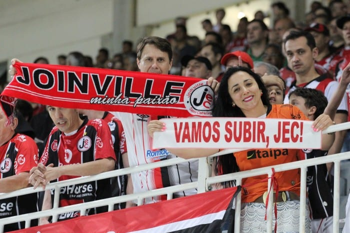 Torcedores querem JEC na Série A (Divulgação/Site Oficial)