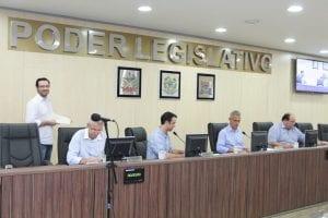 Vereadores em Sessão Ordinária (Renan Olaz)