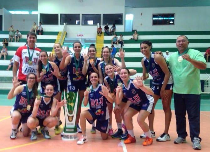 Equipe de basquete de Blumenau (Divulgação)