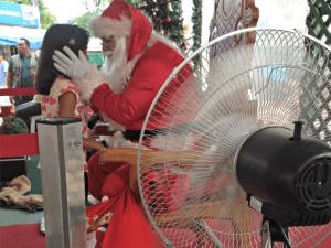 Papai Noel (Rayssa Natani/ G1)
