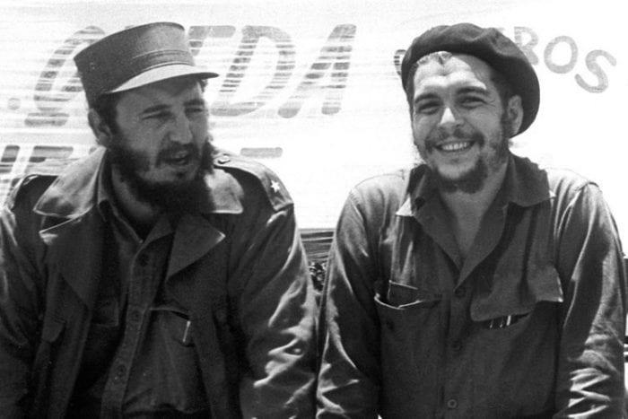 Fidel e Che Guevara. Sinal de libertação de Cuba, mas de alerta para os EUA nos anos 60 (Eu Marxista)