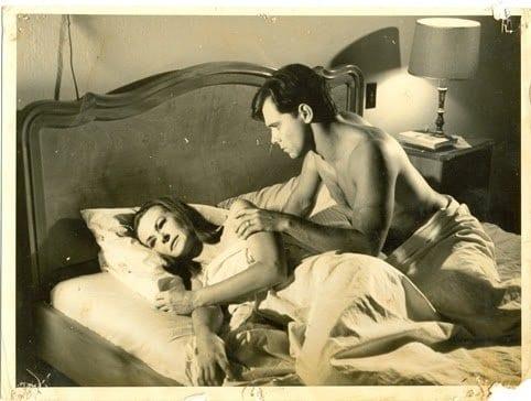 David Cardoso (Celso) e Elisabeth Hartmann (Isa), no lançamento, filme causou polêmica entre os blumenauenses (Adalberto Day)