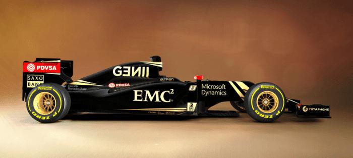 Novo - e belo - carro e o Mercedes V6: As armas da Lotus para voltar aos primeiros.(Lotus F1 Team)