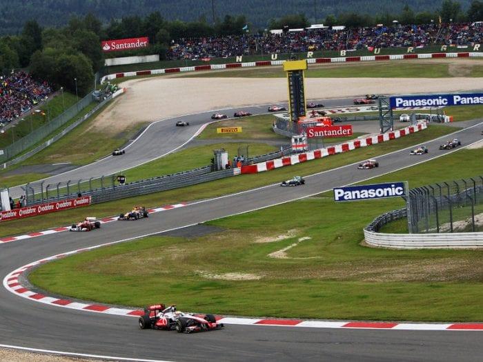 F1 na Alemanha. Falta de acerto com proprietários de Nurbugring (foto) pode retirar a prova do calendário pela primeira vez desde 1960 (Planetf1.com)