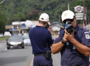 Fiscalização por radar - foto de Marcelo Martins