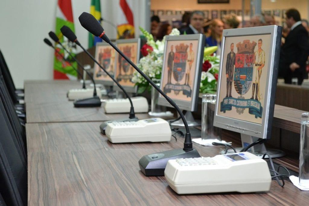 Plenário da Câmara Municipal de Blumenau (Arquivo/CâmaraBlu)