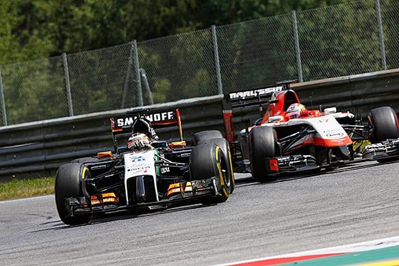 """Vice-presidente da Force India vetou a participação da Marussia/Manor por """"falta de informações (Getty Images)"""