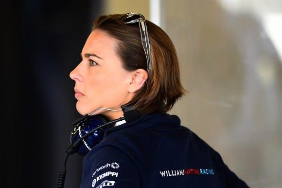 Claire Williams: Puxou do pai e fundador do team, Frank, a esperança de bons tempos (Getty Images)
