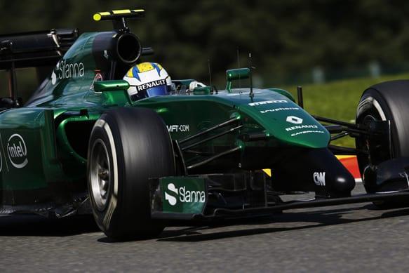 Mesmo permitida, sob modificações, de participar com o carro de 2014 neste ano, Caterham não voltará as pistas (Getty Images)