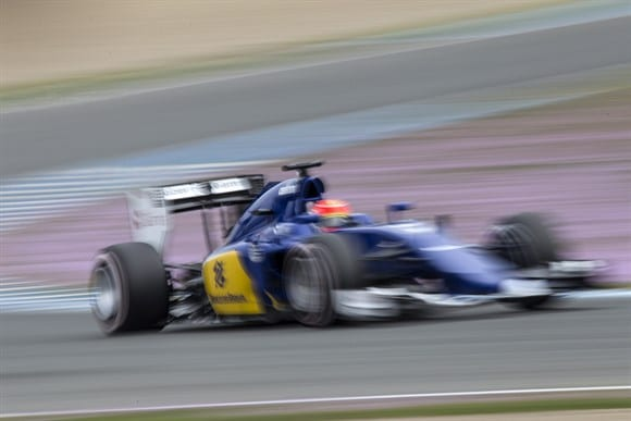 Felipe Nasr (Sauber) anda forte nos testes em Jerez (Xavi Bonilla/Grande Premio)