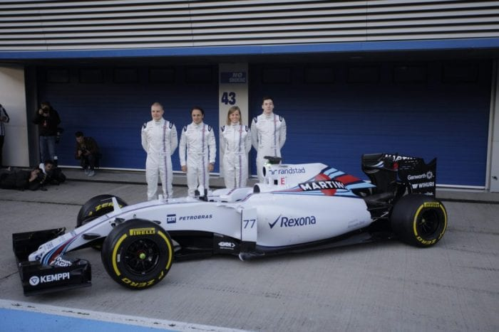 Williams-Mercedes FW37 (Xavi Bonilla/Grande Prêmio)