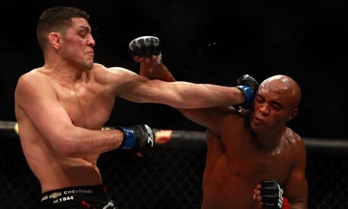 Luta UFC 183 (Foto:Steve Marcus / AFP)