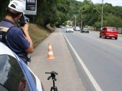 Fiscalização por radar - foto de Juliana Damian