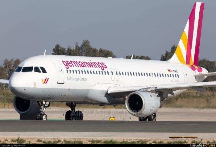 Airbus A320 da Germanwings. Apesar do histórico de acidentes, aeronave é conhecida pela segurança e eficiência (Airplane-Pictures.net)