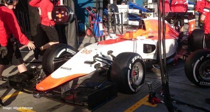 Eis a Manor/Marussia na Australia. Primeira missão do ano foi cumprida e responsabilidade de correr cabe ao ingles Will Stevens e ao espanhol Roberto Merhi (Albert Fabrega)