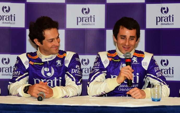 Bruno Senna e Nicolas Prost, lado a lado na Stock Car (Miguel Costa Jr.)