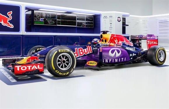 """Nova pintura da Red Bull. Pelas poucas mudanças, nem parece tão """"nova"""" assim (Red Bull)"""