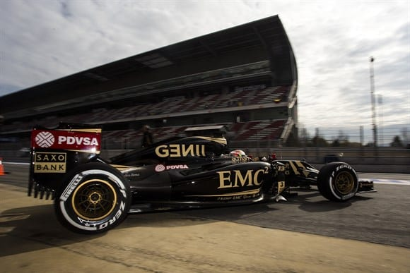 De motor Mercedes, a Lotus promete surpreender na temporada (Xavi Bonilla/Grande Prêmio)