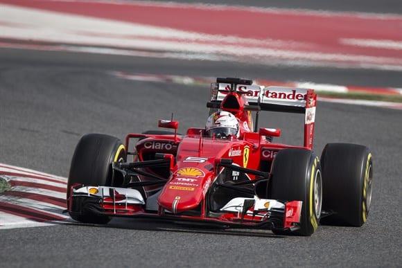 Vettel e a Ferrari: 2014 ficou no passado e o otimismo toma conta do time italiano com o novo carro (Xavi Bonilla/Grande Prêmio)