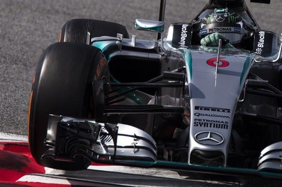 """Nico Rosberg, o responsável pelo """"assombro"""" provocado pela Mercedes em Barcelona (Xavi Bonilla/Grande Prêmio)"""